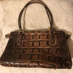 Brahmin Croc Women's Bag